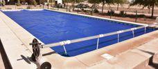 Lona para piscinas cobertor burbujas